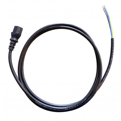 Electric Cable with IEC Connection (Female) - 2 m