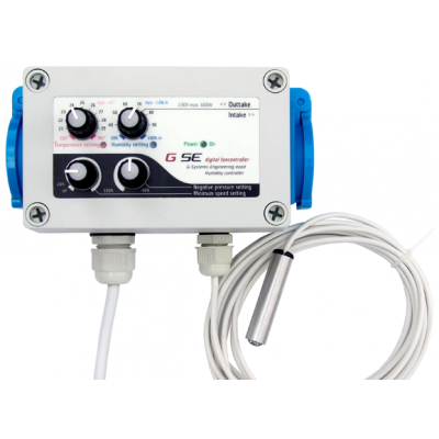 Humidity & Temperature Dependent Speed Controller