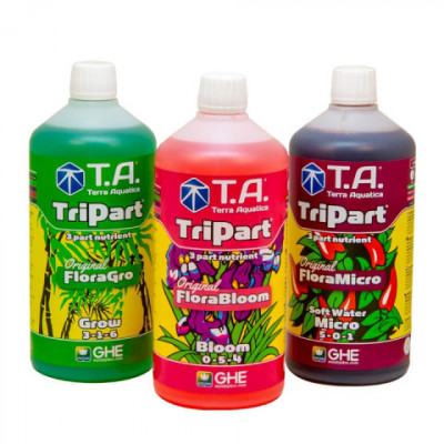 T.A. TriPart Set (Hard Water) 3 x 1 L