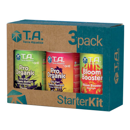T.A. 3-Pack Starter Kit (Pro Organic) 3 x 500 ml